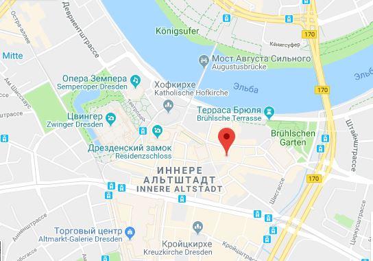 Dresden-Karta